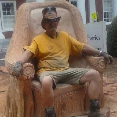Chainsaw Carved Chair
