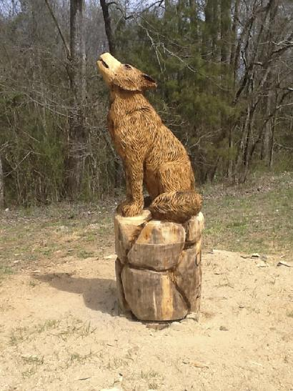 Raising the bar in chainsaw art
